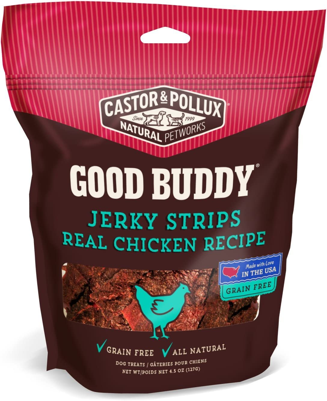 Castor & Pollux Good Buddy Made in USA Natural Dog Treats