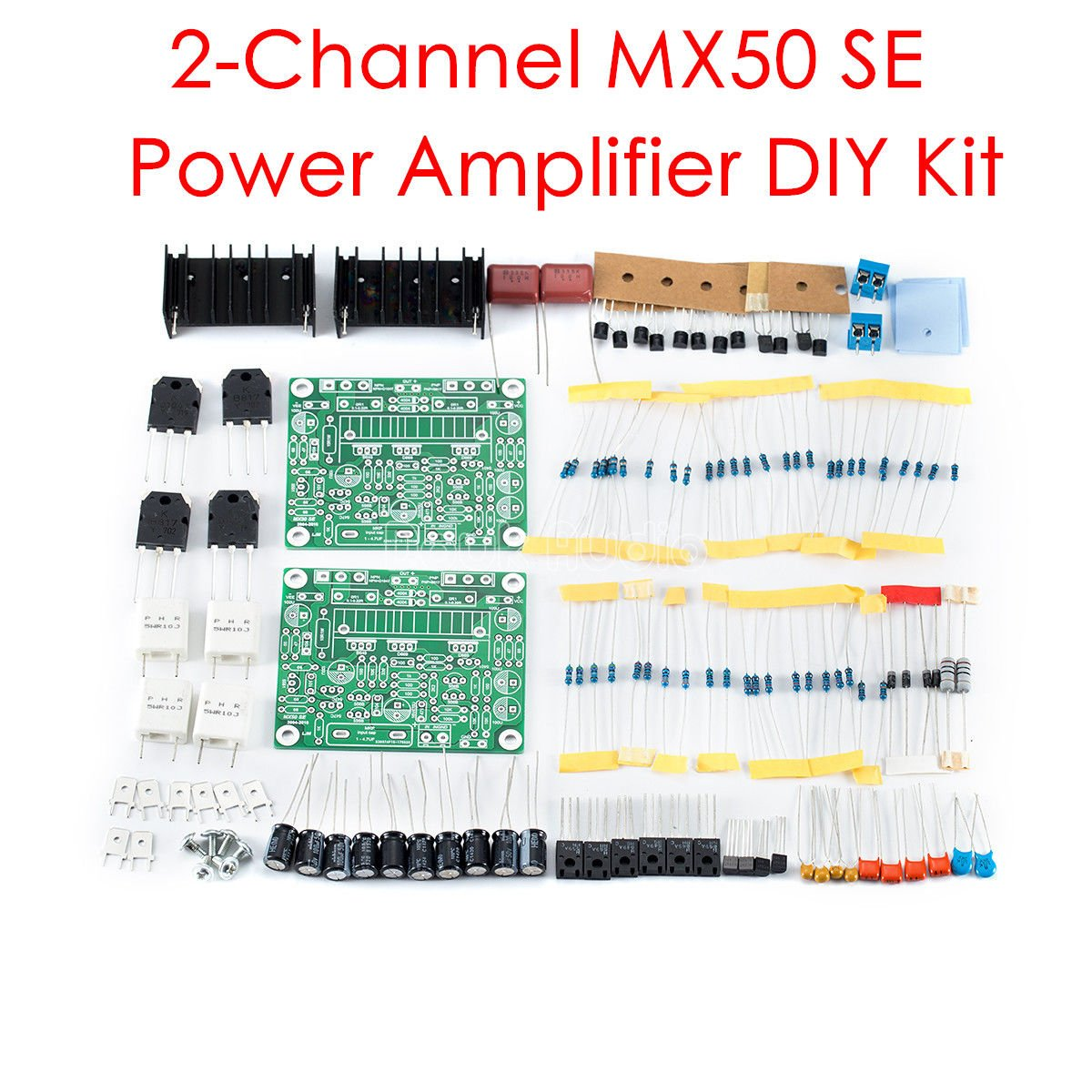 Nobsound Mx50 Se Dual 20 Channel Stereo Digital Power Schematic 100w With Pcb Amplifier Circuit Amp Diy Kit Home Audio Theater