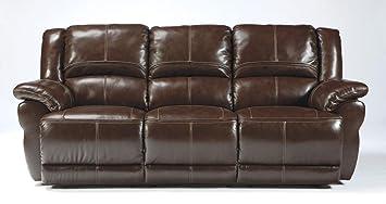 Amazon.com: Ashley Furniture Signature Design   Lenoris Recliner Sofa    Manual Reclining   Coffee Brown: Kitchen U0026 Dining
