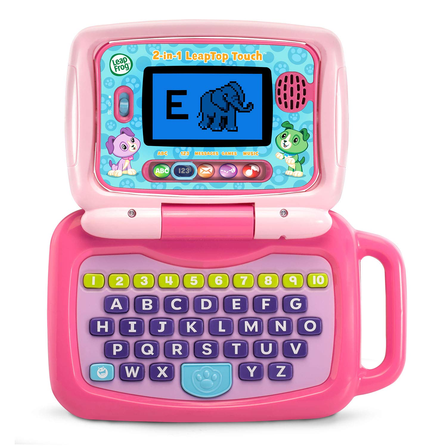 LeapFrog 2-in-1 Leaptop Touch (Frustration Free Packaging), Pink by LeapFrog