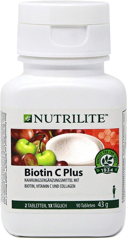 Biotina C Plus uñas y el pelo