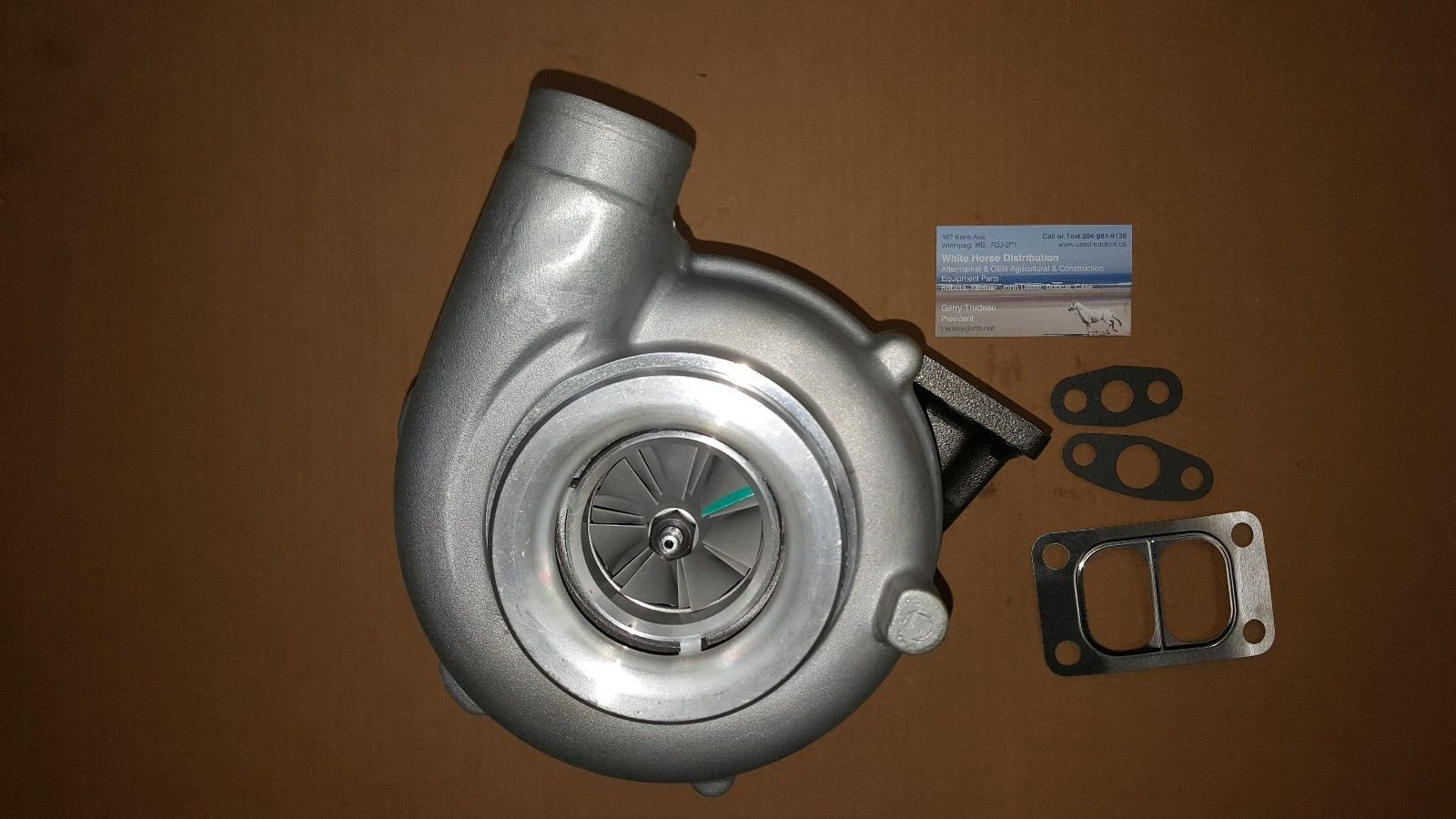 NEW Turbo for Case IH / New Holland: TURBOCHARGER, Part # 87802482