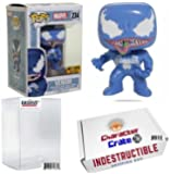 Funko Pop! Marvel Blue Venom Capcom, Hot Topic Exclusive, Concierge Collectors Bundle, Vinyl Figure