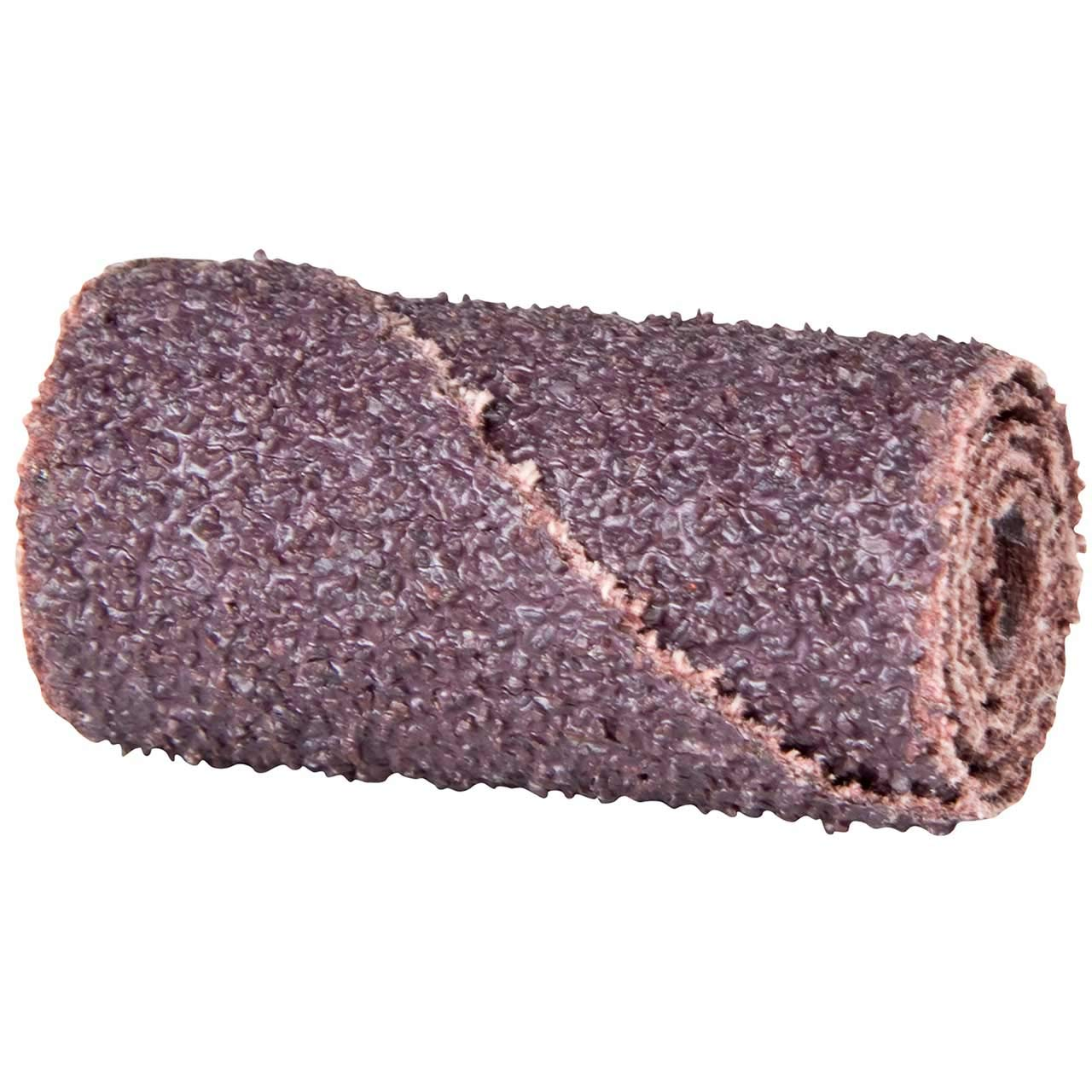 Merit Abrasive Cartridge Roll Grit 60 Roll 1 Diameter x 1-1//2 Length Aluminum Oxide Pack of 100 1//4 Arbor