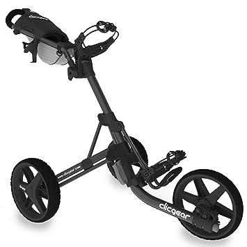 Clicgear CLICT35B Carros De Golf, Unisex Adulto, Negro, Regulable: Amazon.es: Deportes y aire libre