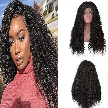 wig Bombshell Negro Suelto Rizado Sintético 3 Pulgadas ...