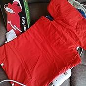 Daga Flexy-Heat NCD - Almohadilla Ergonómica, 39 x 63cm, Conexión Separable, 3 Niveles de Temperatura, Acabado Textil, Autostop de Seguridad, ...