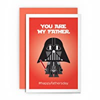 Father's Day Card Star Wars Darth Vader Funny – YOU ARE MY FATHER #HAPPYFATHERSDAY – Dad Card Greeting Card For Him Joke Cardshit Best Card Shit