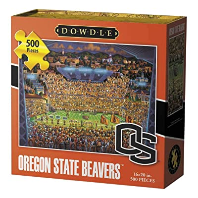 Dowdle Jigsaw Puzzle - Oregon State Beavers - 500 Piece: Toys & Games