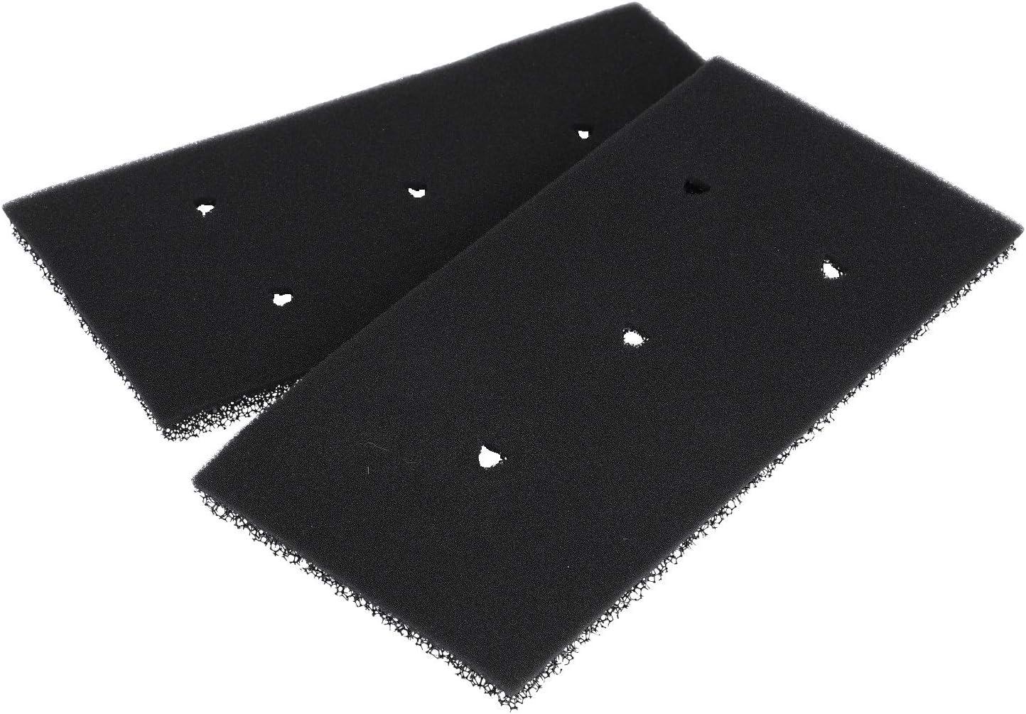 2 piezas filtro de esponja filtro de espuma para la bomba de calor secador secador whirlpool 481010716911 Indesit C00379889
