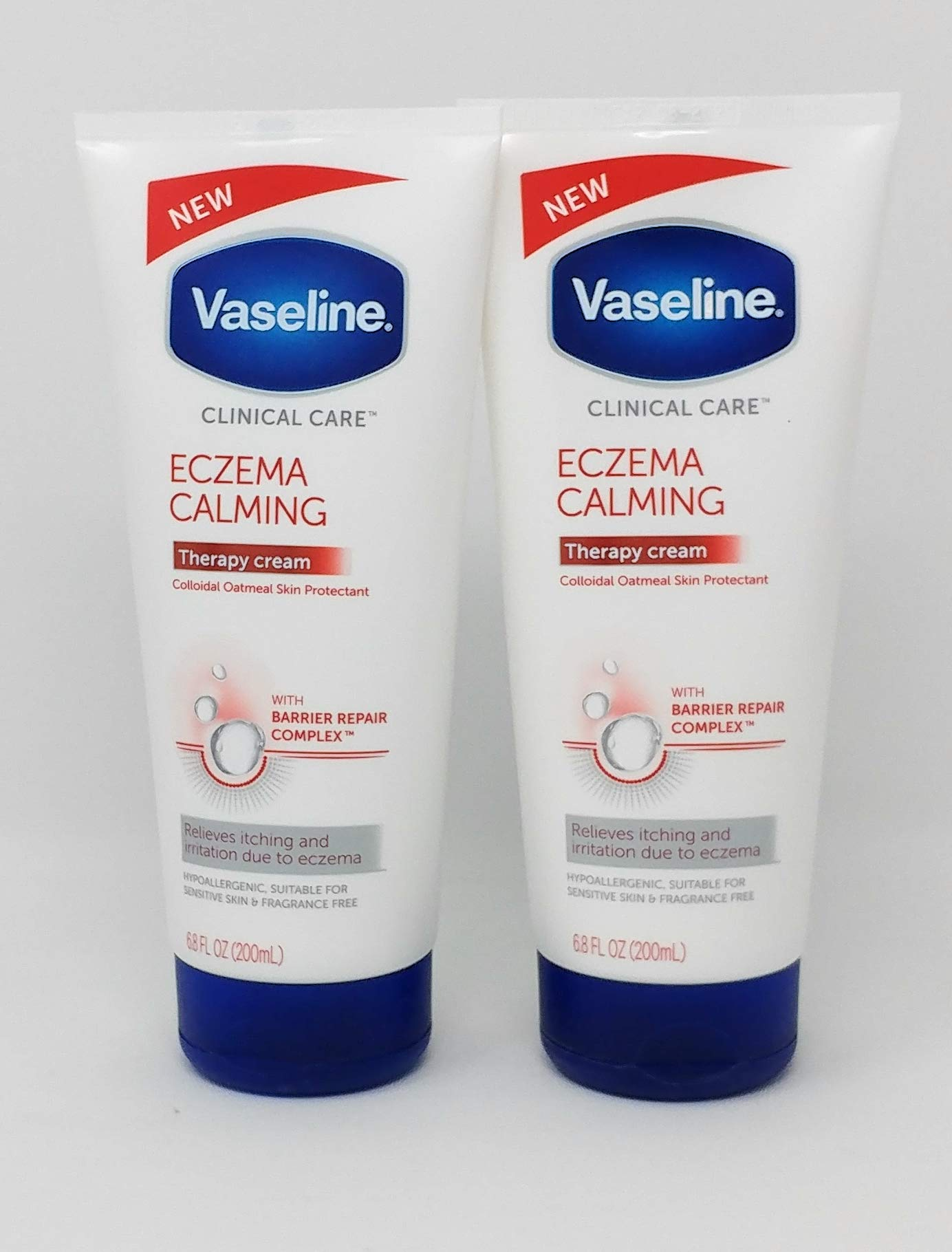 NEW Eczema Calming Hand And Body Lotion Tube 6.8oz - 2-PACK