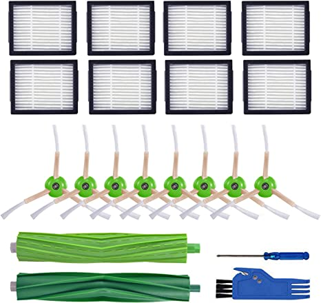 LOVECO Replacement Filter and Brush Kit Compatible for iRobot ...