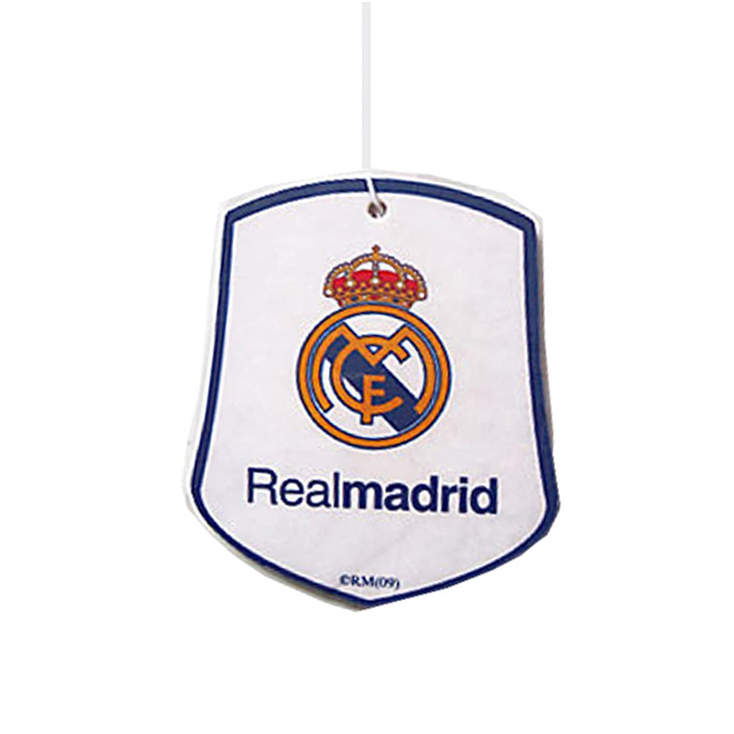 Real Madrid Cf Official Football Crest Car Air Freshener One Size