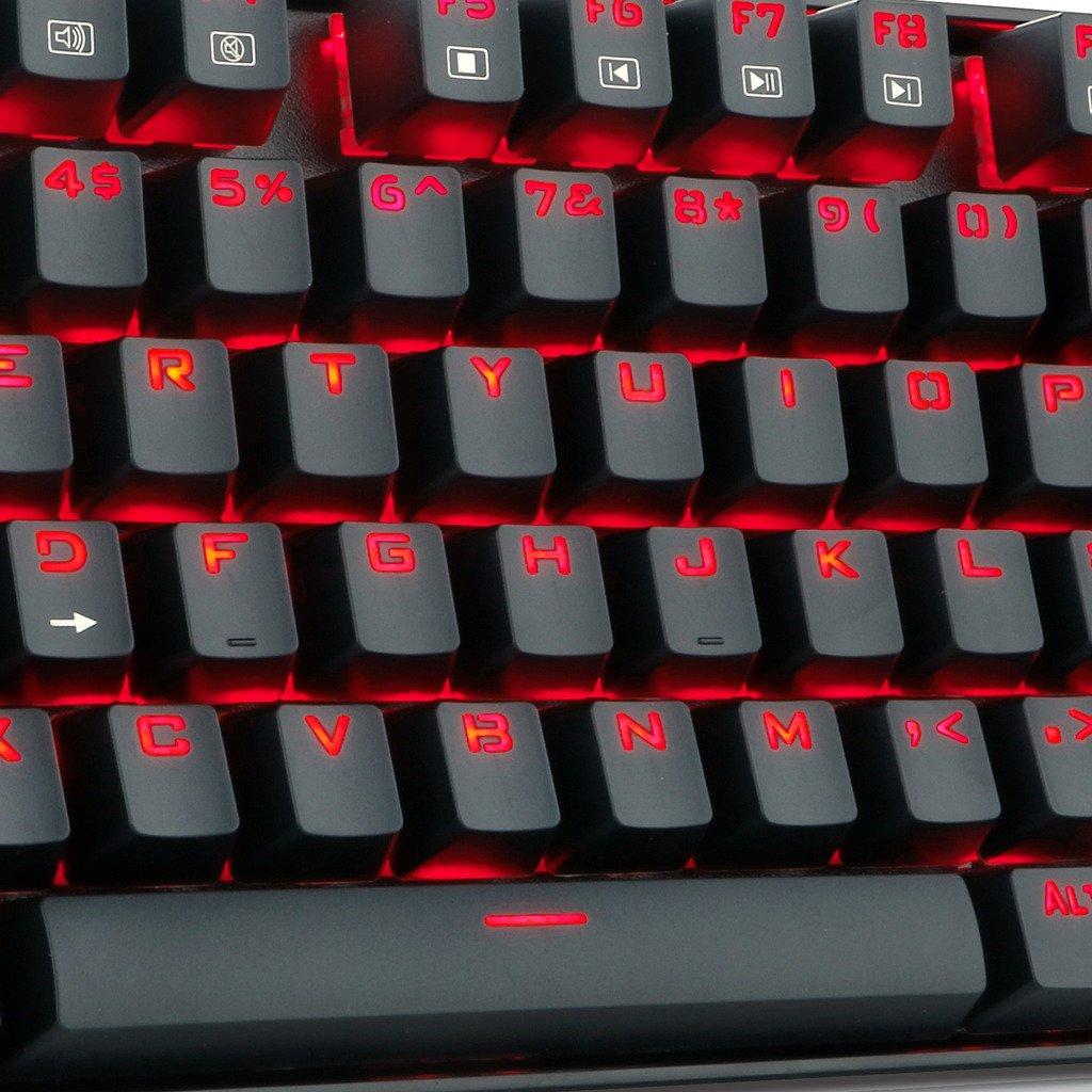 Redragon K552-BA Gaming Keyboard and Mouse Mouse Pad Combo 87 Keys LED Backlit