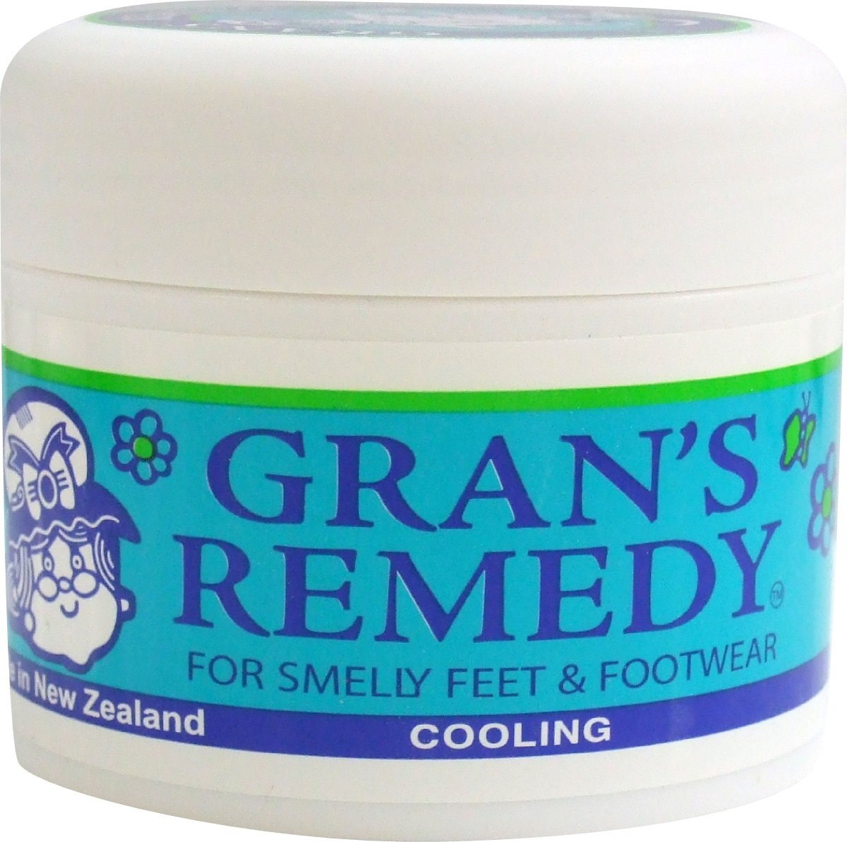 Foot Odor Eliminator for Smelly Feet & Footwear, Foot Care Powder Cause it Kills the Bacteria up to 6 Months, Freshens Better Than Spray Deodorant it Disinfects & Deodorizes Shoes & Boots by Gran's Re by Gran's Remedy.