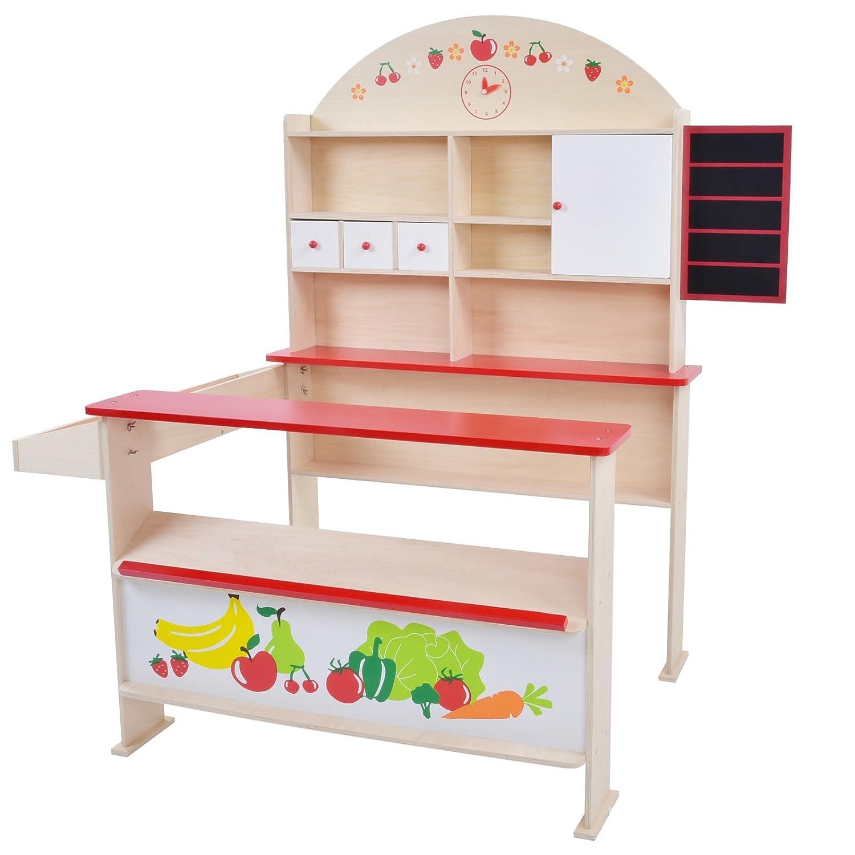 cassetti e mensole Infantastic Bancarella bambini negozio gioco bambini bancarella gioco bambini con bancone