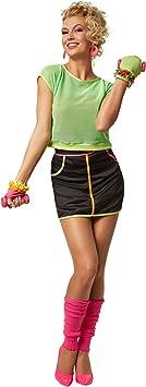dressforfun Disfraz para mujer Funky | Colores de neón de los años ...