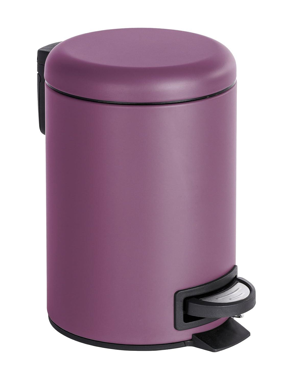 takestop Cubo Basura Basura 3/litros de Acero Negro Easy 52580/Caja a Pedal Cesta de Cocina ba/ño