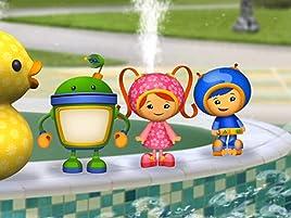 El divertido juego en el agua de Kayla llega a su fin, cuando el rociador de agua elefante deja de funcionar. Para ayudar a Kayla, el equipo Umizoomi ...