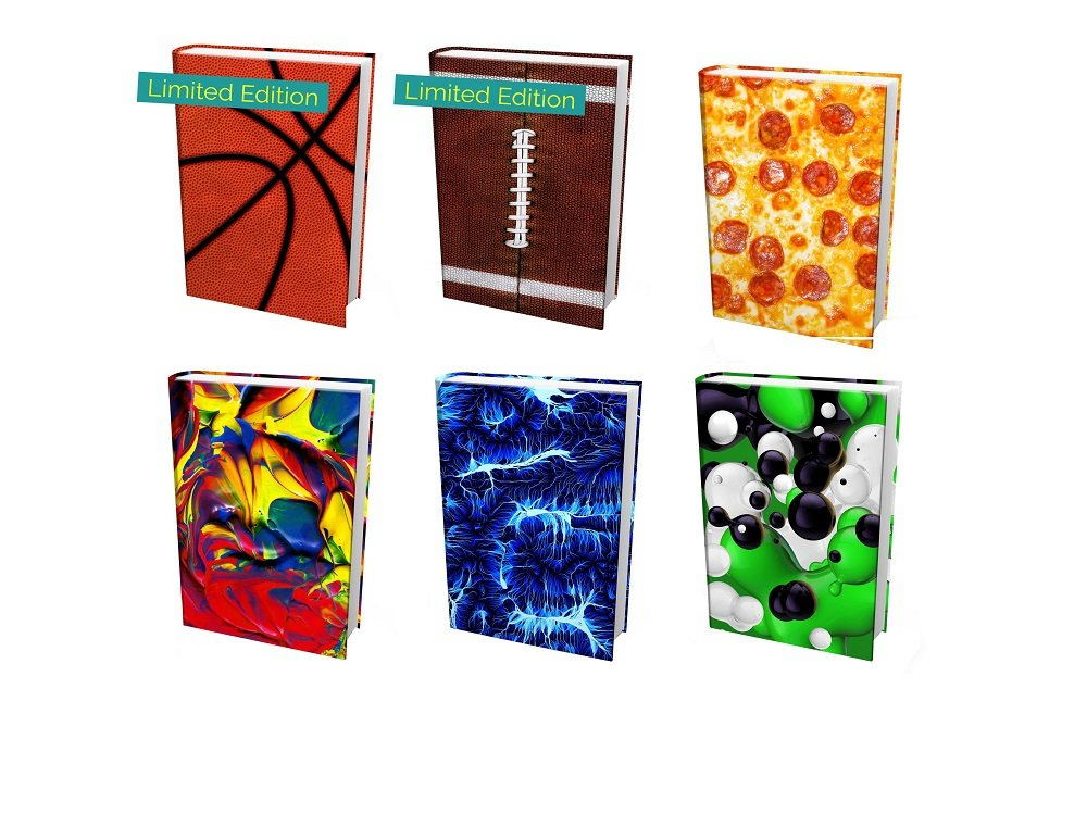 ORASANT 7-Pack Book Covers for Hardcover