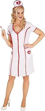 TecTake dressforfun Disfraz de Enfermera para Mujer | Precioso ...