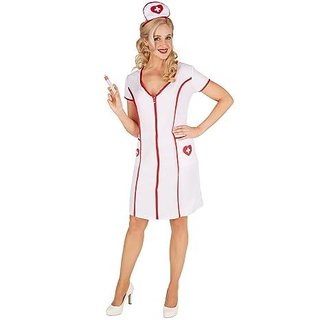 dressforfun Disfraz de Enfermera para Mujer | Precioso ...