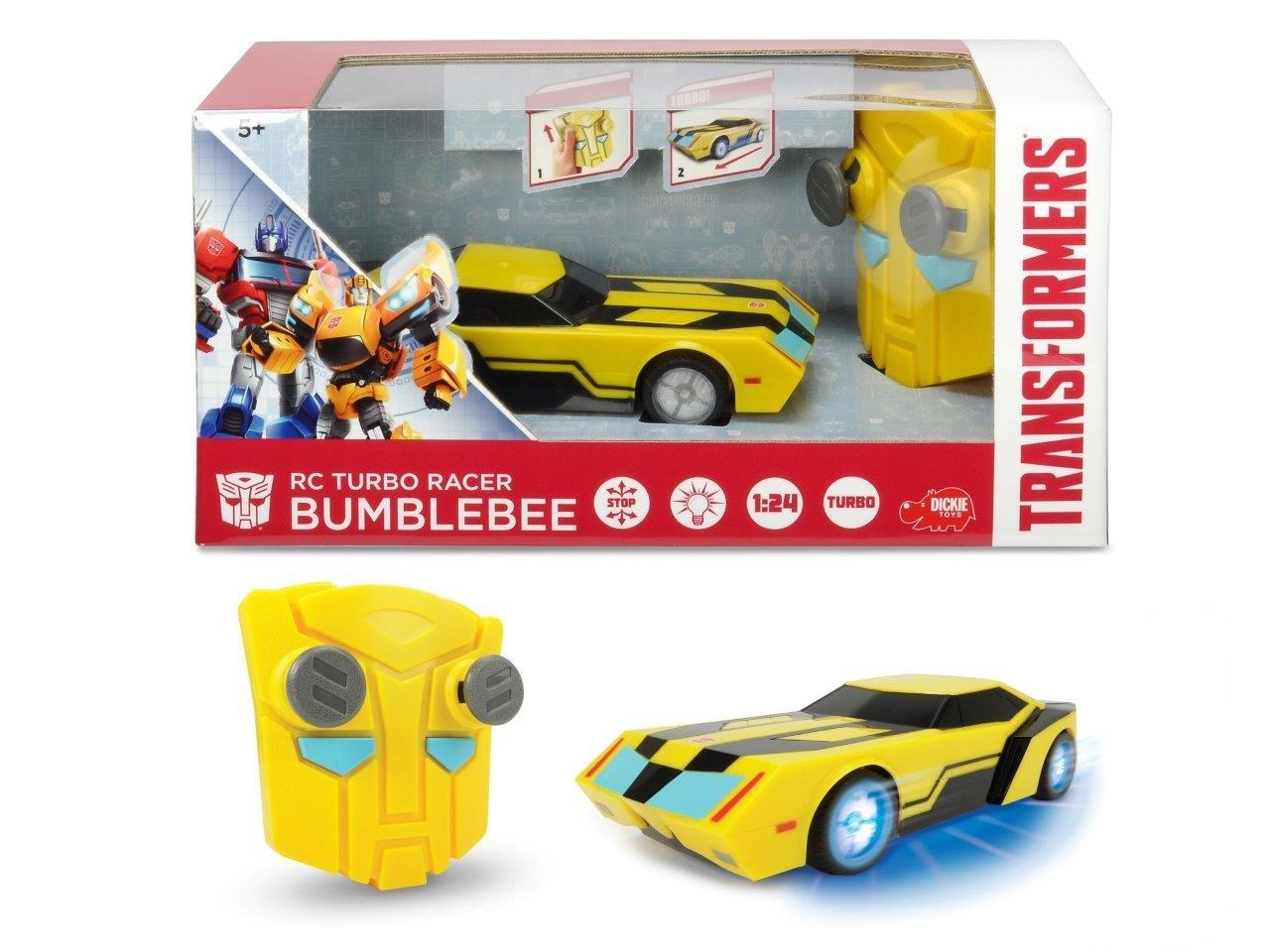 Dickie Toys 203114009 Transformers RC Turbo Racer Bumblebee Coche teledirigido: Amazon.es: Juguetes y juegos