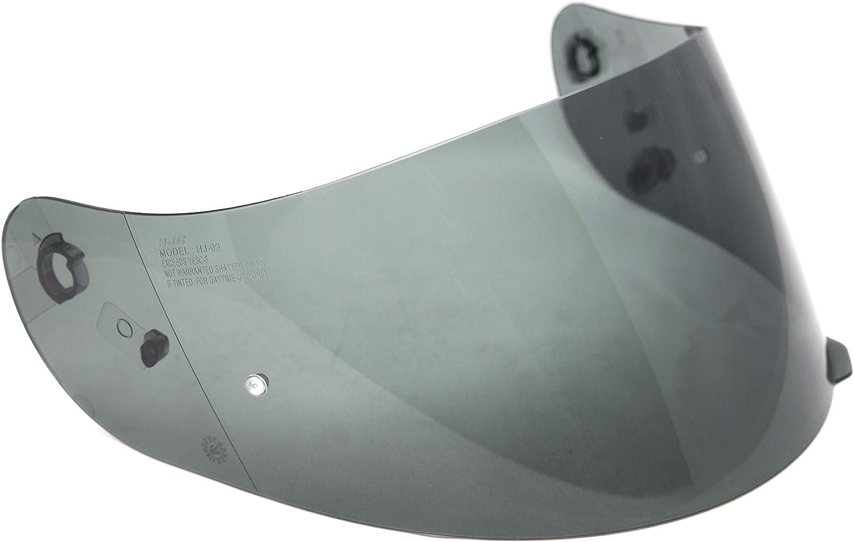 HJC Helmets HJ-09 Unisex-Adult Full-Face-Helmet-Style Replacement Helmet Face Shield Smoke,One Size