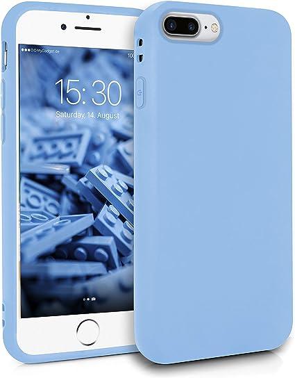 MyGadget Friendly Pocket Custodia TPU per Apple iPhone 7 Plus / 8 Plus - Case Morbida Bordi Rinforzati Cover Silicone Antiurto e Antigraffio - Blu ...