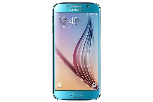 804 opinioni per Samsung G920 Galaxy S6 Smartphone, 32 GB, Blu [Italia]