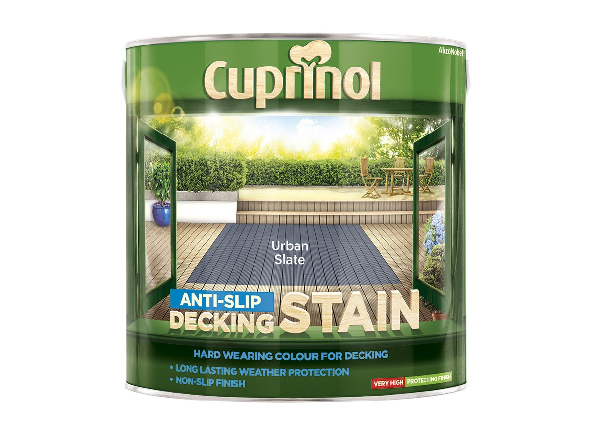 Garden anti slip decking stain paint wood deck floor for Garden decking non slip