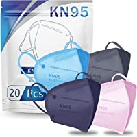 20-Pack Hotodeal KN95 5 Layers Cup Dust Face Mask