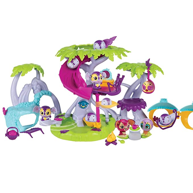 Amazon.com: Zoobles razoo Casa del Árbol de juguete Playset ...