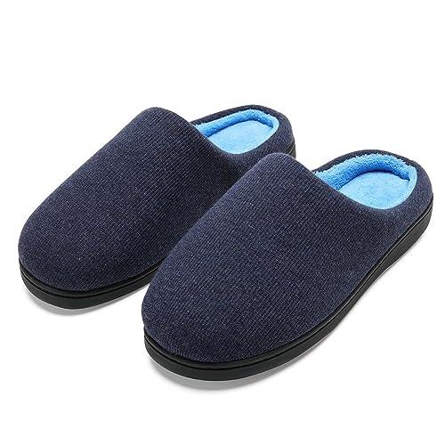 Zapatillas de Casa Hombre, Ultraligero cómodo y Antideslizante, Pantuflas de Estar por casa para Hombre: Amazon.es: Zapatos y complementos