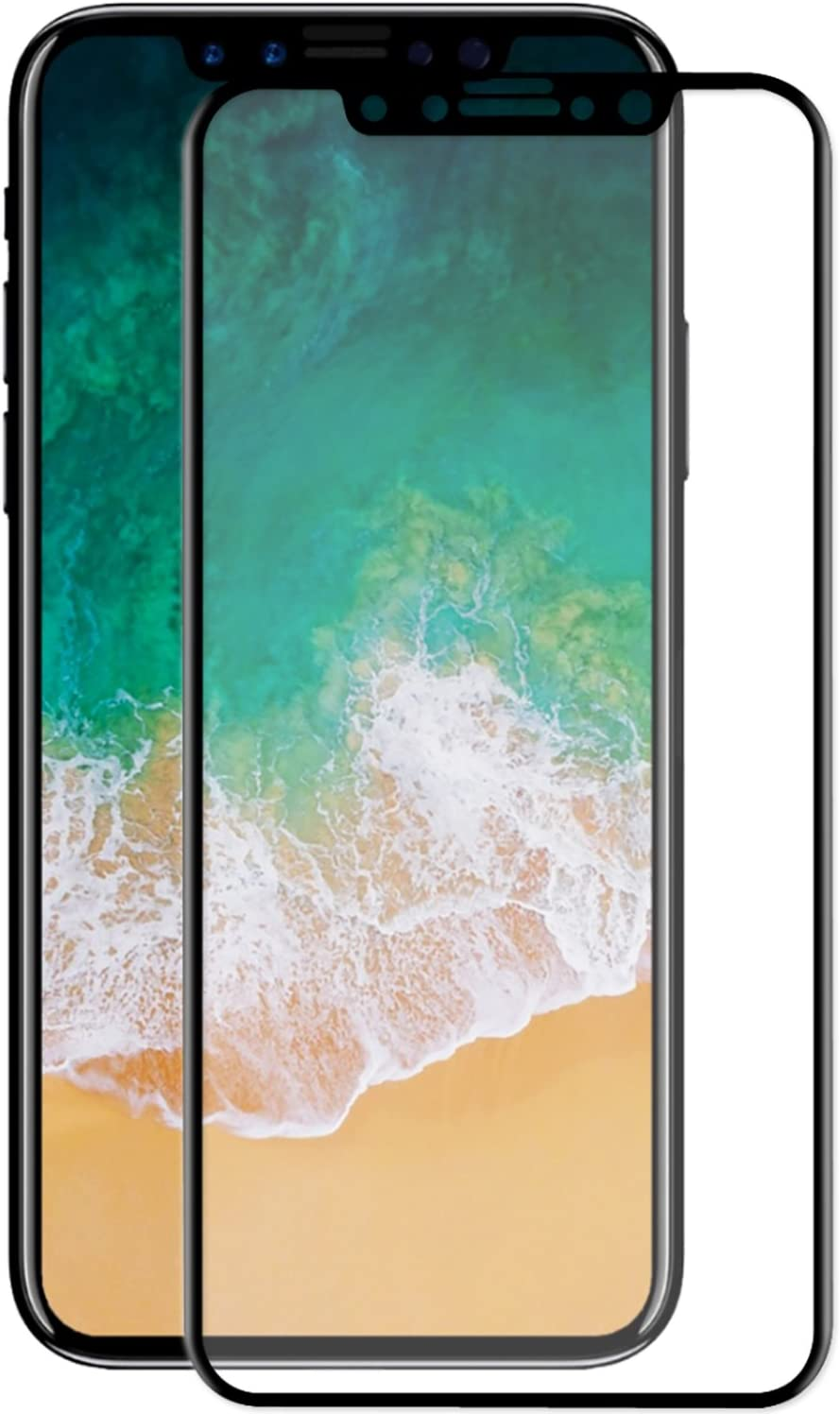 TheSmartGuard Panzerglas kompatibel mit iPhone 8//7 Panzerglasfolie Gebogene Kanten in Gold Vollst/ändiger Schutz 4,7 Zoll Full Screen Tempered Glass