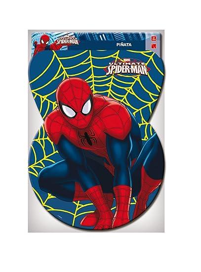 Spider-Man - Piñata silueta figura, 46x65 cm (Verbetena 014300020)