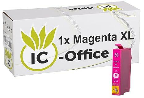 1x ic-office Cartuchos de impresora AGENTA compatible para ...