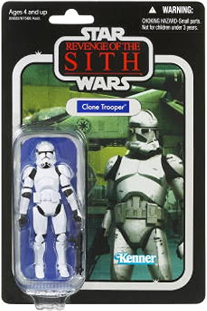 Amazon Com Star Wars Revenge Of The Sith Clone Trooper Figure 4 Inches Toys Games