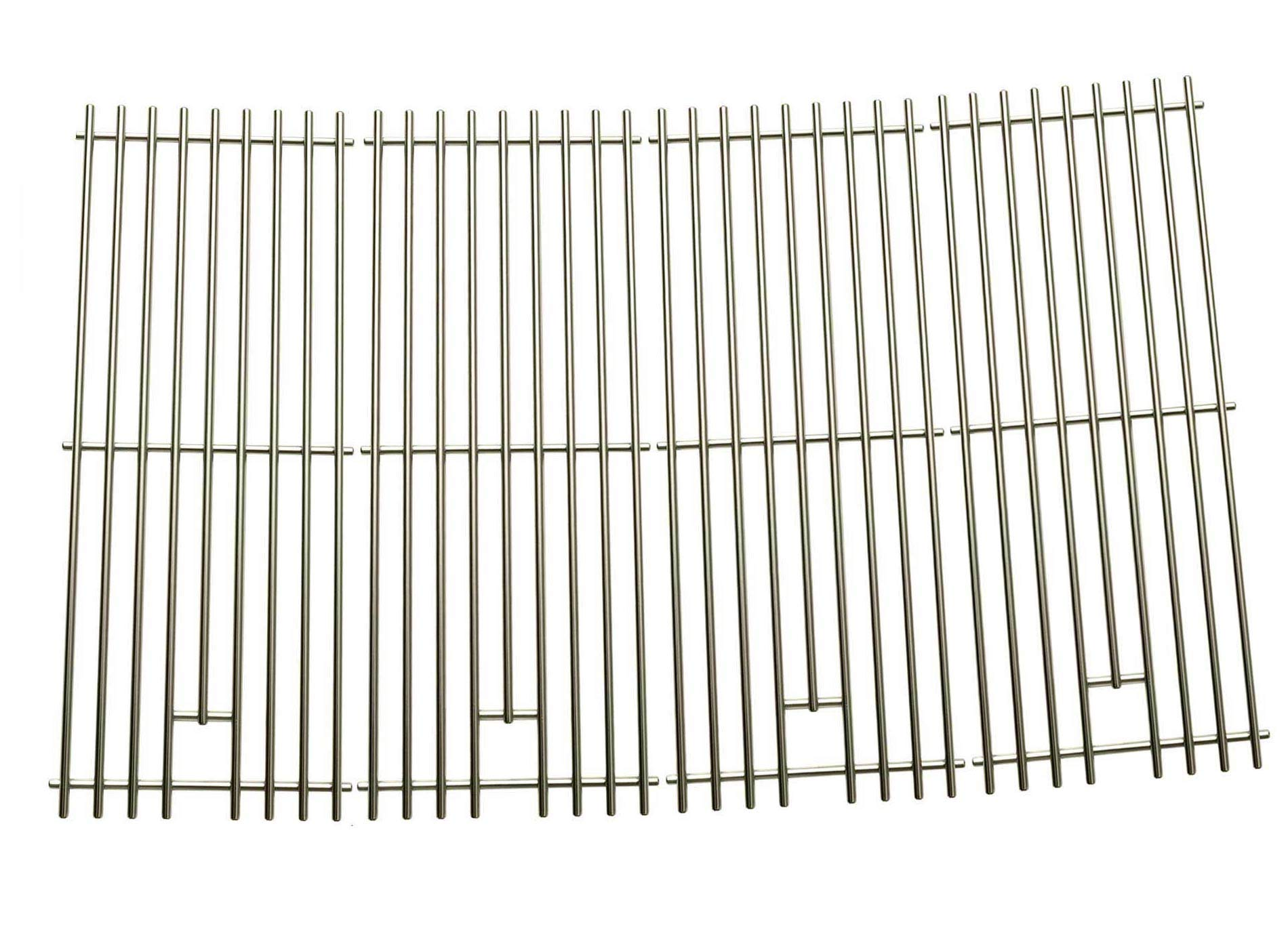 Kenmore 148.16656010, 148.2368231, 640-05057386-4, 90118 and Master Forge SH3118B Replacement Stainless Cooking Grid, Set of 4