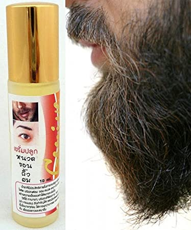 ba34b8efbbe Amazon.com : BEARD FACIAL HAIR GROWTH Growth Eyebrow Growth SERUM 10ml  Natural by Genive : Beauty