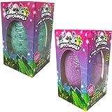 Hatchimals JUMBO Bath Bomb Surprise Set of 2 - Burtle Berry and Penguala Pineapple Scented