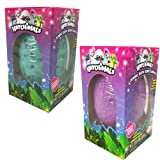 Amazon Price History for:Hatchimals JUMBO Bath Bomb Surprise Set of 2 - Burtle Berry and Penguala Pineapple Scented