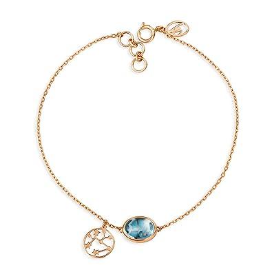 03ff6262cb7af Buy Mia By Tanishq 14KT Rose Gold Saggitarius Bracelet for Women ...