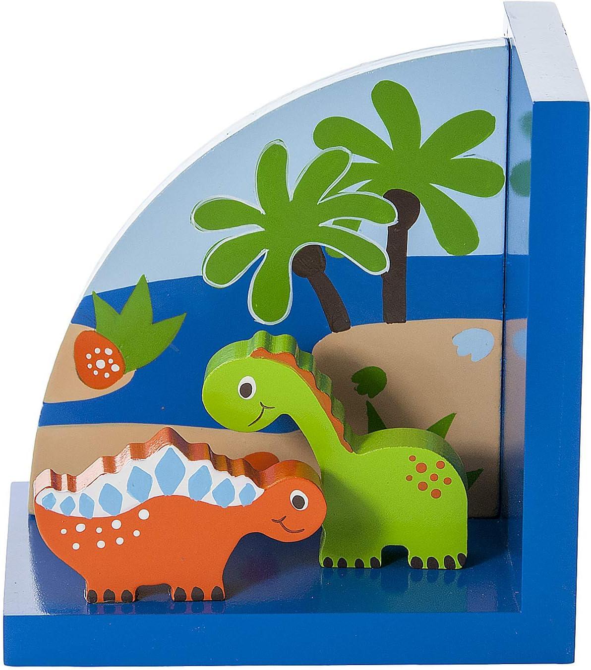 Serre-livres dinosaure en bois th/ème d/'enfants pour gar/çons ou chambre de b/éb/é