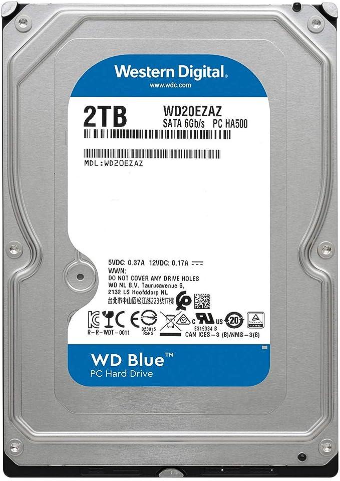 Wd Wd20ezaz Festplatte 3 5 Zoll Computer Zubehör