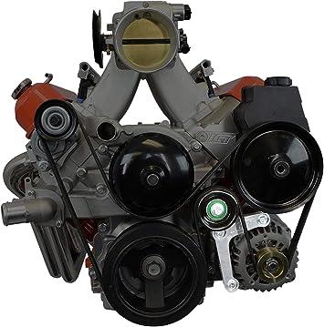 ls1 gto belt diagram amazon com ict billet ls alternator bracket complete w idler  ict billet ls alternator bracket