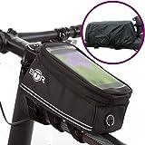 Bike Handy Halter BTR Tasche Bike–wasserdicht Fahrrad Rahmen Tasche 100% garantiert zu schützen alle Ihre Wertsachen, von der Regen–2017Bike Phone Halter Edition passend für alle Fahrräder
