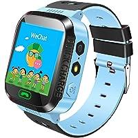 Jslai Reloj Localizador Niños GPS SmartWatch con Camara Reloj Flash luz, SOS, nocturna pantalla táctil, Anti - Lost…