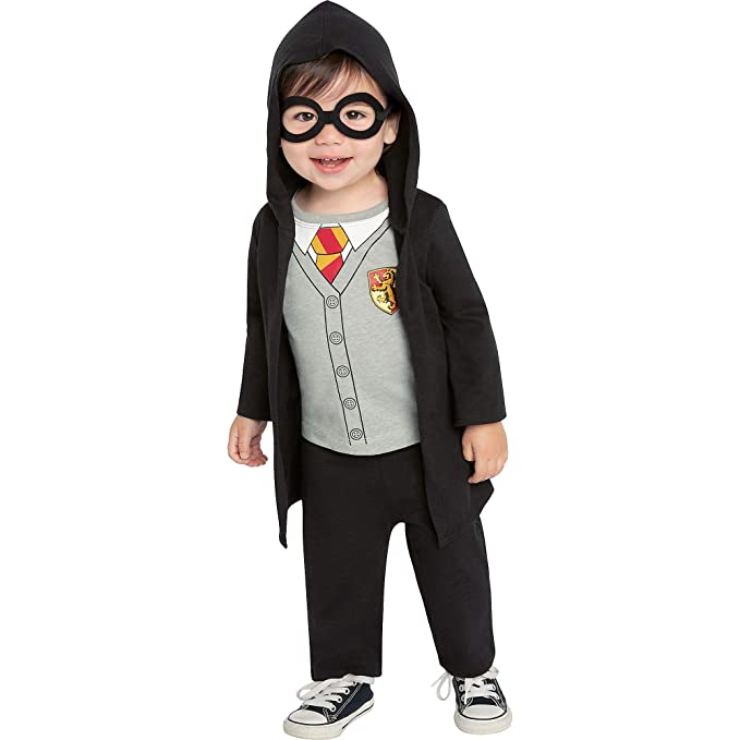 Amazon.com: Jerry Leigh Harry Potter Lil Hogs Wizard Costume ...