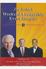 "Jim Rohn's Weekend Leadership Event Sampler - Three Incredible Days with Brian Tracy Charlie, ""Tremendous"" Jones; Denis Watley; Brian tracy; Chris Widener; Donna Krech (2004 DVD) DVD-R"